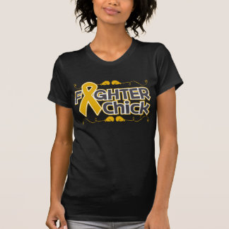 Appendix Cancer Fighter Chick T-shirts