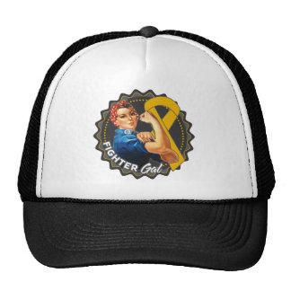 Appendix Cancer Fighter Gal Cap