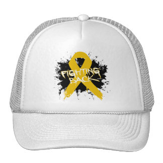 Appendix Cancer - Fighting Back Trucker Hats