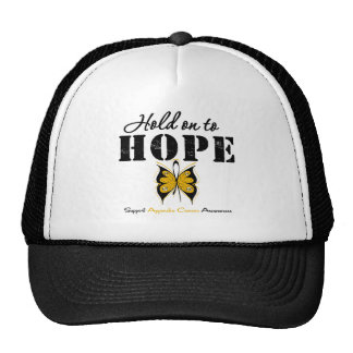 Appendix Cancer Hold On To Hope Mesh Hat