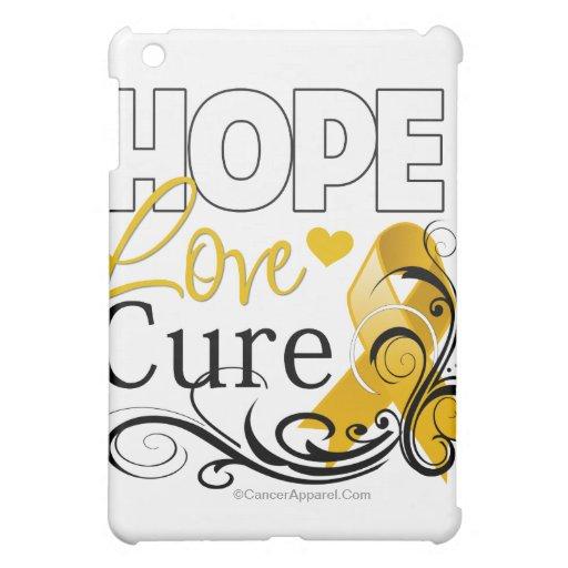 Appendix Cancer Hope Love Cure iPad Mini Cover