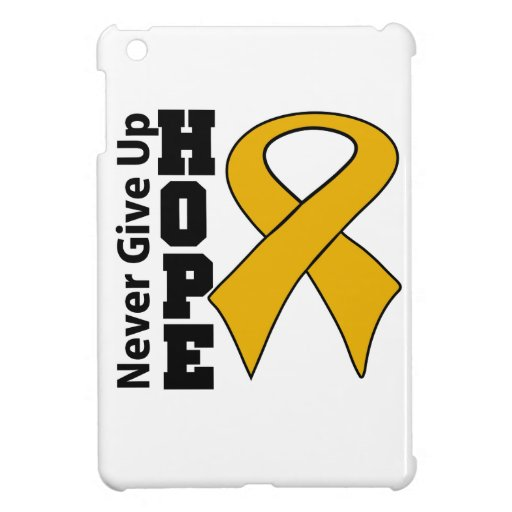 Appendix Cancer Hope Never Give Up iPad Mini Cases