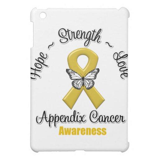 Appendix Cancer Hope Strength Love iPad Mini Covers