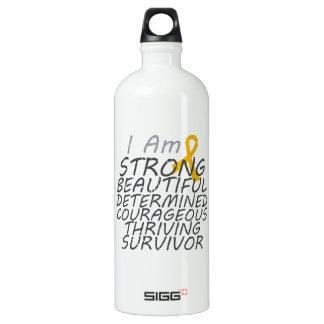 Appendix Cancer I Am Strong Survivor SIGG Traveller 1.0L Water Bottle