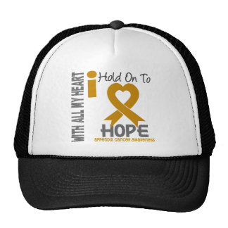 Appendix Cancer I Hold On To Hope Cap