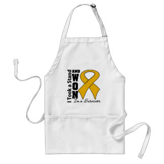 Appendix Cancer I Took a Stand and Won Apron