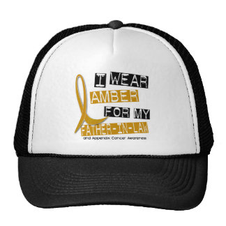 APPENDIX CANCER I Wear Amber For My Father-In-Law Hat