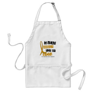 APPENDIX CANCER I Wear Amber For My Son 37 Standard Apron