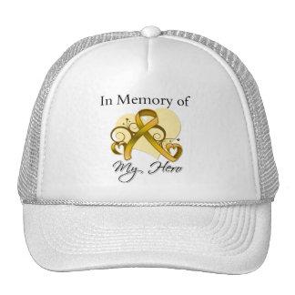 Appendix Cancer In Memory of My Hero Trucker Hat