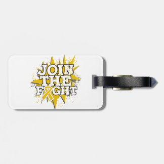 Appendix Cancer Join The Fight Luggage Tag