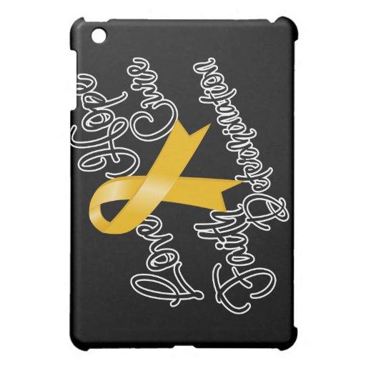 Appendix Cancer Love Hope Determination iPad Mini Case
