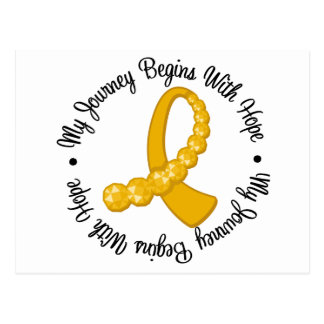 Appendix Cancer My Journey Begins With Hope Postcard