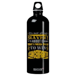 Appendix Cancer Not About Bravery SIGG Traveller 1.0L Water Bottle