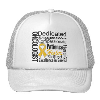 Appendix Cancer Oncologist Collage Trucker Hats