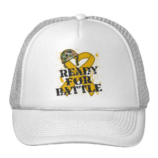 Appendix Cancer Ready For Battle Hat