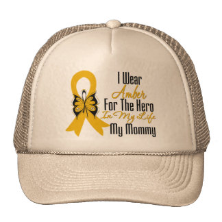 Appendix Cancer Ribbon Hero My Mommy Cap