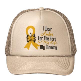Appendix Cancer Ribbon Hero My Mommy Cap