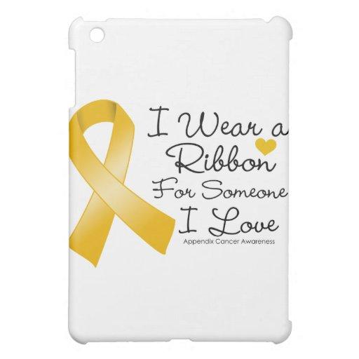 Appendix Cancer Ribbon Someone I Love iPad Mini Case