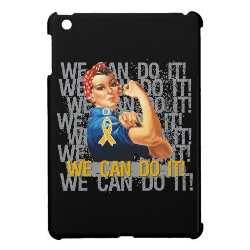 Appendix Cancer Rosie WE CAN DO IT iPad Mini Case