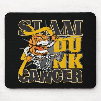 Appendix Cancer - Slam Dunk Cancer Mouse Pad