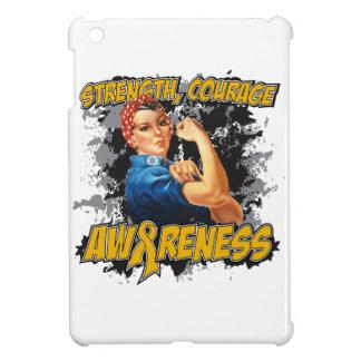 Appendix Cancer Strength Courage iPad Mini Case
