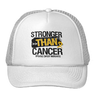 Appendix Cancer - Stronger Than Cancer Mesh Hats
