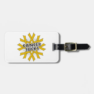 Appendix Cancer Sucks Luggage Tag