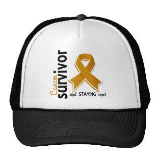 Appendix Cancer Survivor 19 Trucker Hats