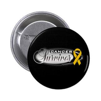 Appendix Cancer Survivor 6 Cm Round Badge