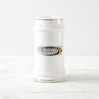 Appendix Cancer Survivor Beer Steins