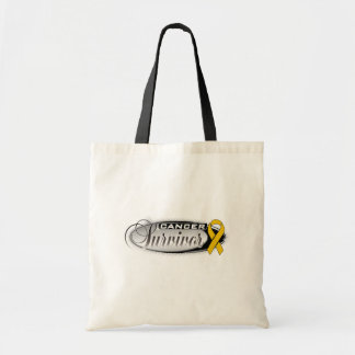 Appendix Cancer Survivor Budget Tote Bag