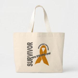 Appendix Cancer Survivor Jumbo Tote Bag