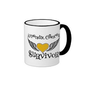 Appendix Cancer Survivor Coffee Mugs