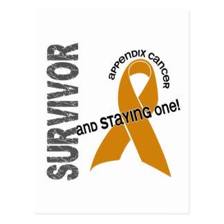 Appendix Cancer Survivor Postcard