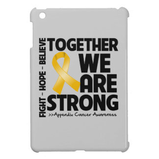 Appendix Cancer Together We Are Strong iPad Mini Cover
