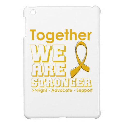 Appendix Cancer Together We Are Stronger Cover For The iPad Mini