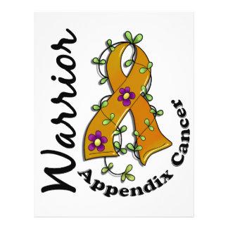 Appendix Cancer Warrior 15 Custom Flyer