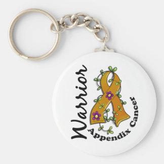 Appendix Cancer Warrior 15 Keychain