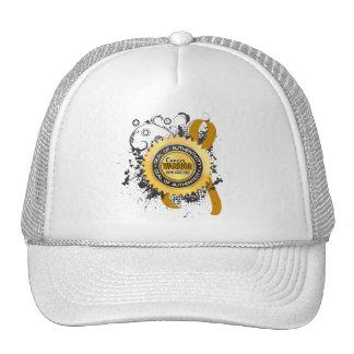 Appendix Cancer Warrior 23 Trucker Hat