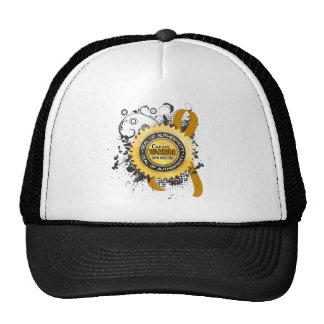 Appendix Cancer Warrior 23 Trucker Hats