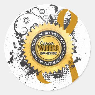 Appendix Cancer Warrior 23 Stickers