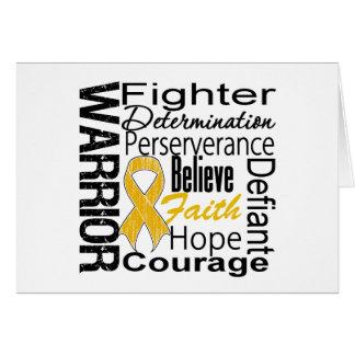 Appendix Cancer Warrior Collage Cards