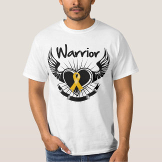 Appendix  Cancer Warrior Fighter Wings T-Shirt