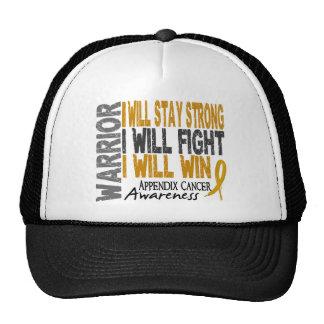 Appendix Cancer Warrior Hat