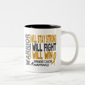 Appendix Cancer Warrior Coffee Mug