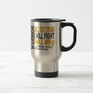Appendix Cancer Warrior Mugs