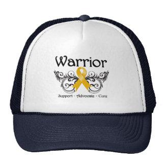 Appendix Cancer Warrior Scroll Mesh Hats
