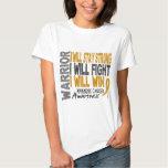 Appendix Cancer Warrior T Shirt