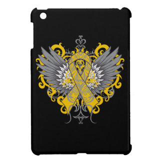 Appendix Duct Cancer Cool Wings iPad Mini Cover