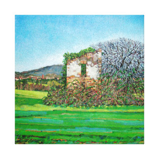 Appia Antica House 2008 Gallery Wrap Canvas
